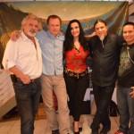 Artists Otto Rapp_Peter Gric_ Gabriela Garza Padilla_Hector Toro and Luis Tamani