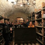 Toledo wine cellar reception