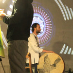 10concert-live painting-video loop- a Liba photo