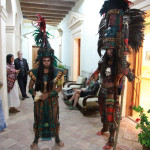 Mayan Dancers to lead the parade through the streets- Pascal Stambollion pic