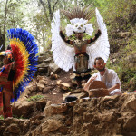 sConcert with Mayan dancers - a Liba photo
